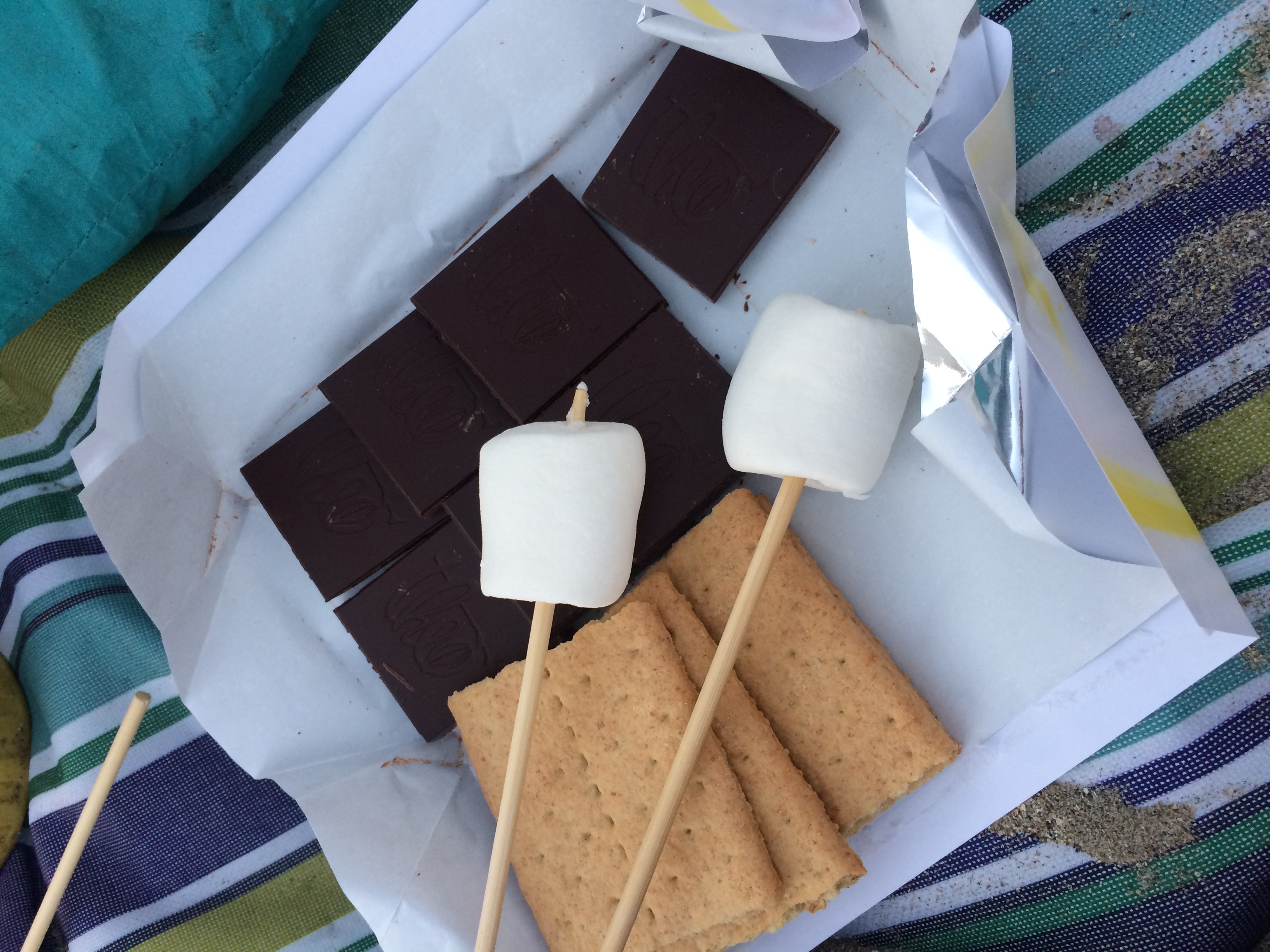 Sunset S'mores at Olde Port Beach