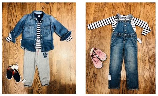 Kids Style: Denim & Stripes